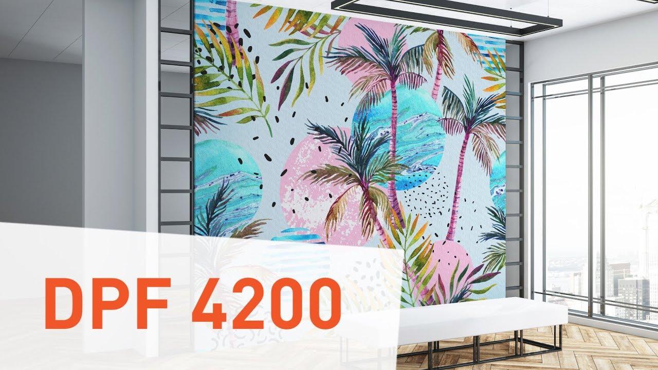 DPF 4200 Matte/Canvas - Interior Wall Film