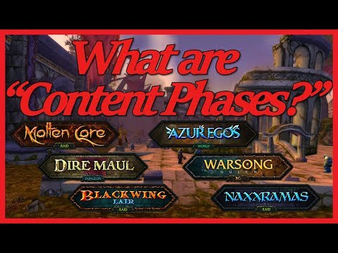 What Are The Classic WoW Content Phases?