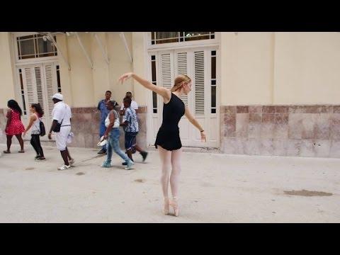American ballerina in Cuba
