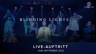 "SPIELHAGEN - ""BLINDING LIGHTS"" , The Weeknd Cover [live], Choir Remix To Dance"