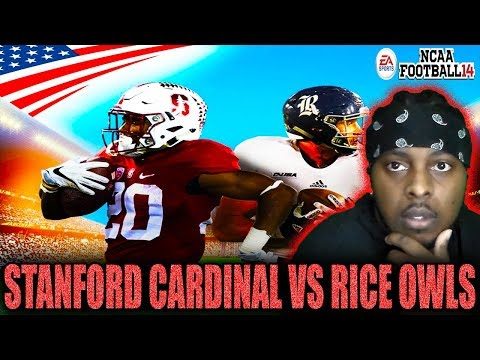 Stanford Cardinal Vs Rice Owls SYDNEY CUP COLLEGE FOOTBALL KICKOFF NCAA FOOTBALL 14