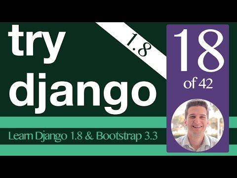 Try Django 1.8 Tutorial - 18 of 42 -  Serving Static Files - Learn Django