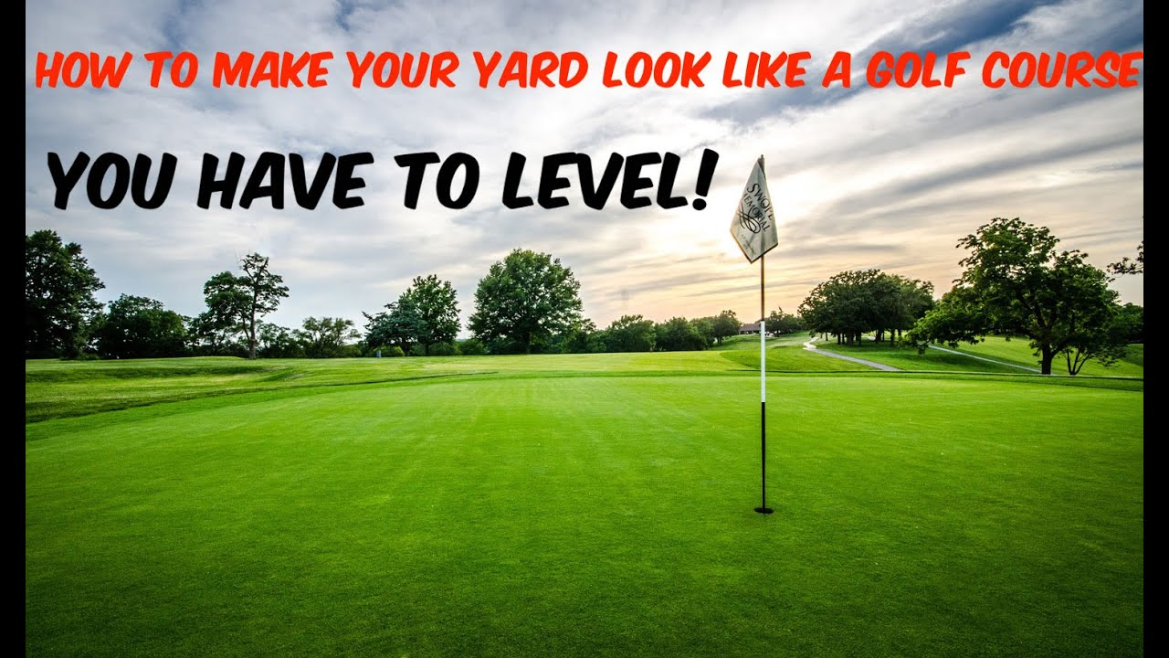 Leveling or top dressing a lawn and make it smooth with SAND | How to Level  your yard to mow low