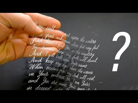 CREATE an AWESOME TEXT ILLUSION in PHOTOSHOP