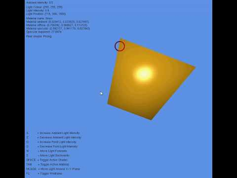 3D Math & Rendering Assignment 2
