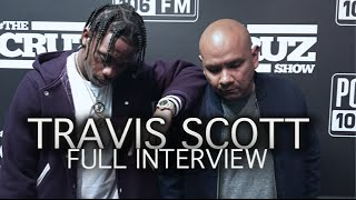 Travis Scott FULL INTERVIEW