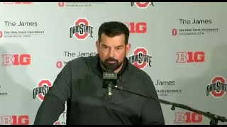 Ohio State's Ryan Day On QBs Post-spring Game: \