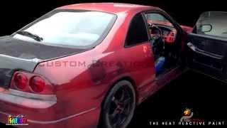 Thermochromic Paint Heat Sensitve Car Paint