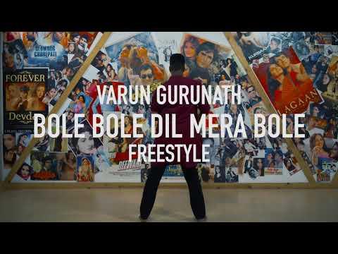 Varun Gurunath   Bollywood Hip Hop Dance...