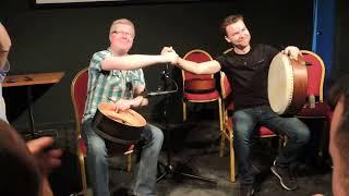 Martin O'Neill & Cormac Byrne, Teacher's recital - Craiceann 2015 video notes