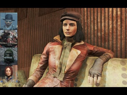 Fallout 4 - Interview with Piper (All characters)