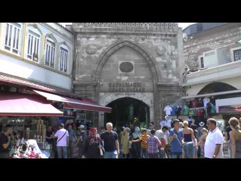 Стамбул Гранд Базар крыши и окрестности Istanbul Grand Bazaar roof and surroundings