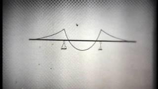 Учебный фильм Статические определения.  Шарнирные балки