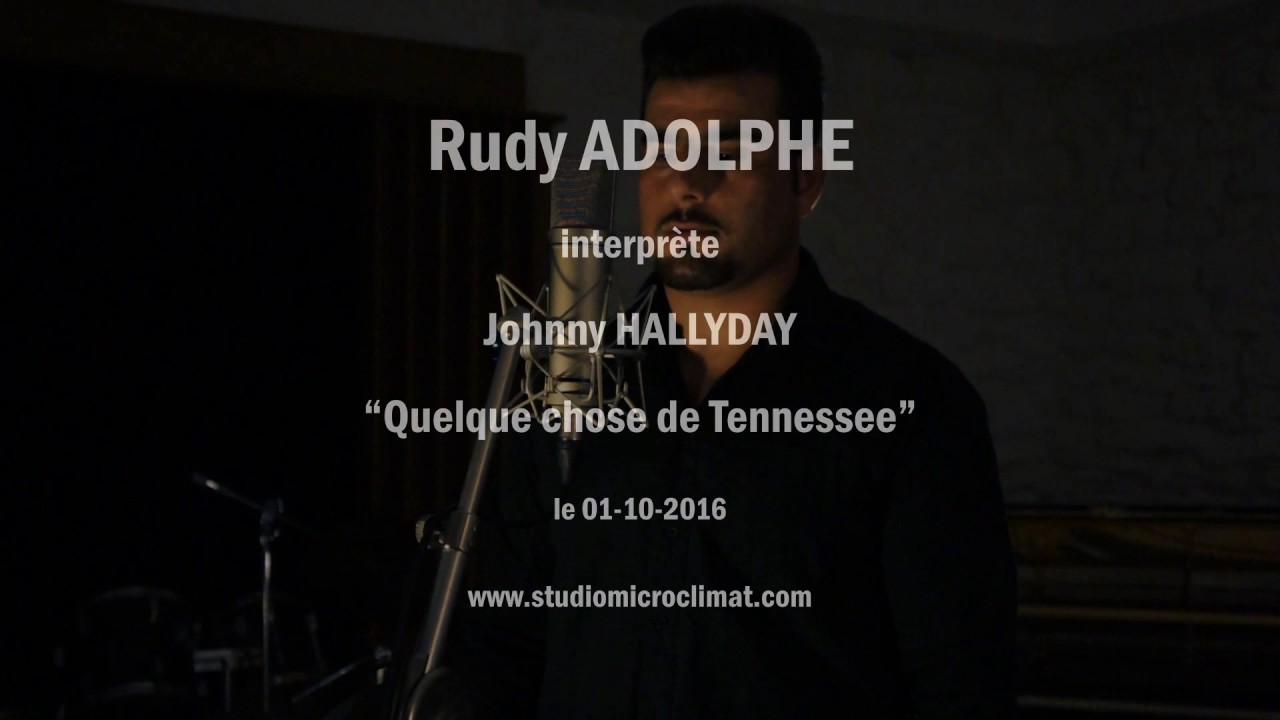 johnny hallyday studio hommage quelques choses de tennessee youtube. Black Bedroom Furniture Sets. Home Design Ideas