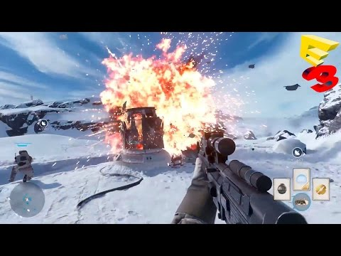 Star Wars Battlefront Multiplayer Gameplay Trailer Demo - E3 2015 (Battlefront 3 Multiplayer)