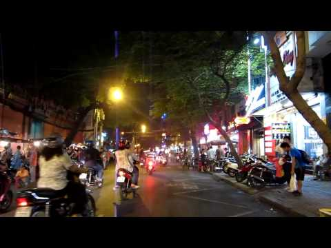 Jay and Sharon - Saigon - A Tuk Tuk ride around the city