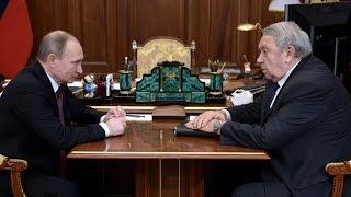 Путин устроил разнос всей академии наук РАН! Глава РАН не ожидал и РАСТЕРЯЛСЯ