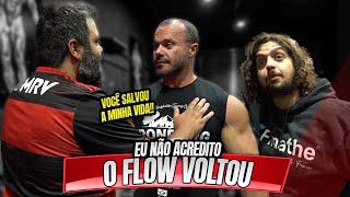 FLOW DE VOLTA AO CT, SERÁ QUE VÃO CONTINUAR?