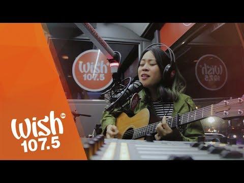 """Reese Lansangan sings """"Home"""" LIVE on Wish 107.5 Bus"""
