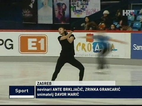 [2013.12.04] 김연아 Yuna KIM News (HRT) Golden Spin of Zagreb 2013