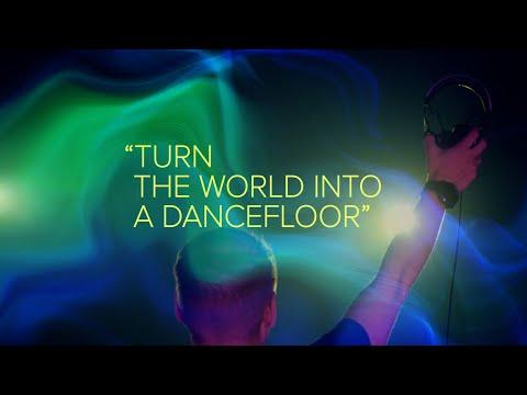 Смотреть клип Armin Van Buuren - Turn The World Into A Dancefloor