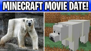 Minecraft Movie Official Date & Story!