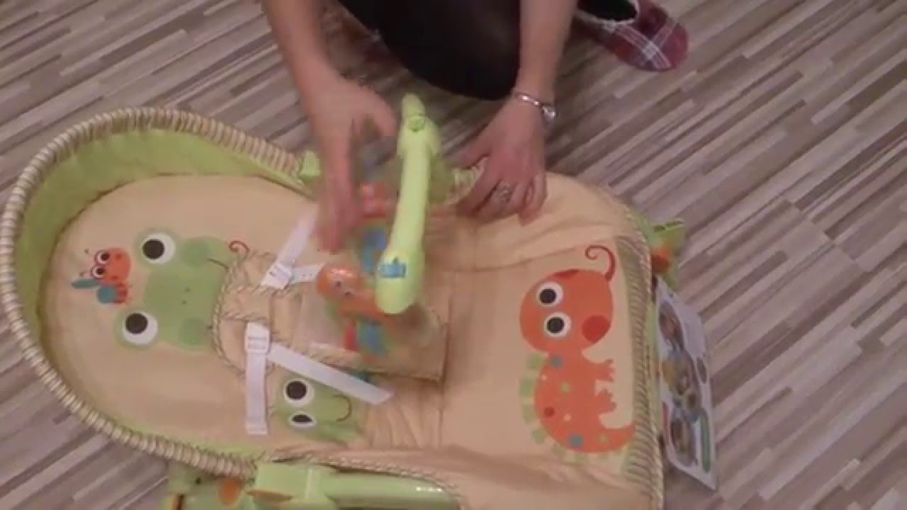 Unboxing Portable Rocker Fisher Price Newborn To Toddler , Baby ...