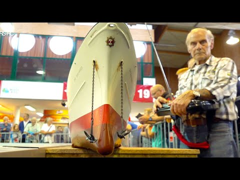 Download GIANT 3M LONG RC BOAT// MIND BLOWING DETAILS IN FUNCTION// EXTREM BIG MODEL SHOP IN ACTION
