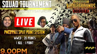 SQUAD TOURNAMENT! - PMCO FALL SPLIT POINT SYSTEM - PUBG MOBILE (MALAYSIA)