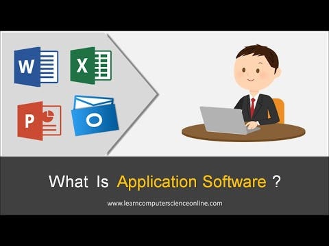 What Is Application Software ? | Computer Organization And Architecture