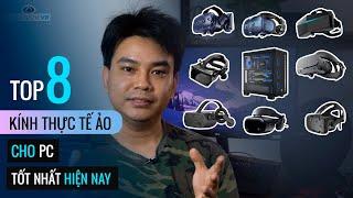 TOP 8 Kính Thực Tế Ảo Cho PC ✅ Odyssey+,  Oculus Rift S, Cosmos, Vive Pro, Pimax 5K+, Valve Index