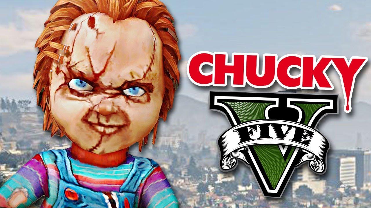 GTA V MODS CHUCKY EN GTA 5 RobleisIUTU YouTube