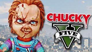 vuclip GTA V MODS: CHUCKY EN GTA 5 !! - RobleisIUTU