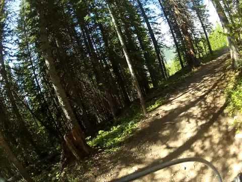 Downhill Mountain Biking at Copper Mountain
