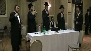 Berry Weber with the Shira Choir
