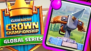 WOW WE DID IT! XBOW in CROWN CHAMPIONSHIP! - Clash Royale