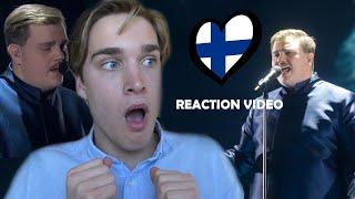 Reaction video Aksel Kankaanranta - Looking Back Finland Eurovision 2020