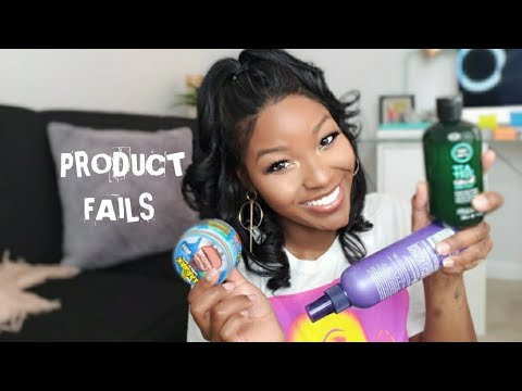 Product Fails| Relaxed Hair| AprilSunny 2019