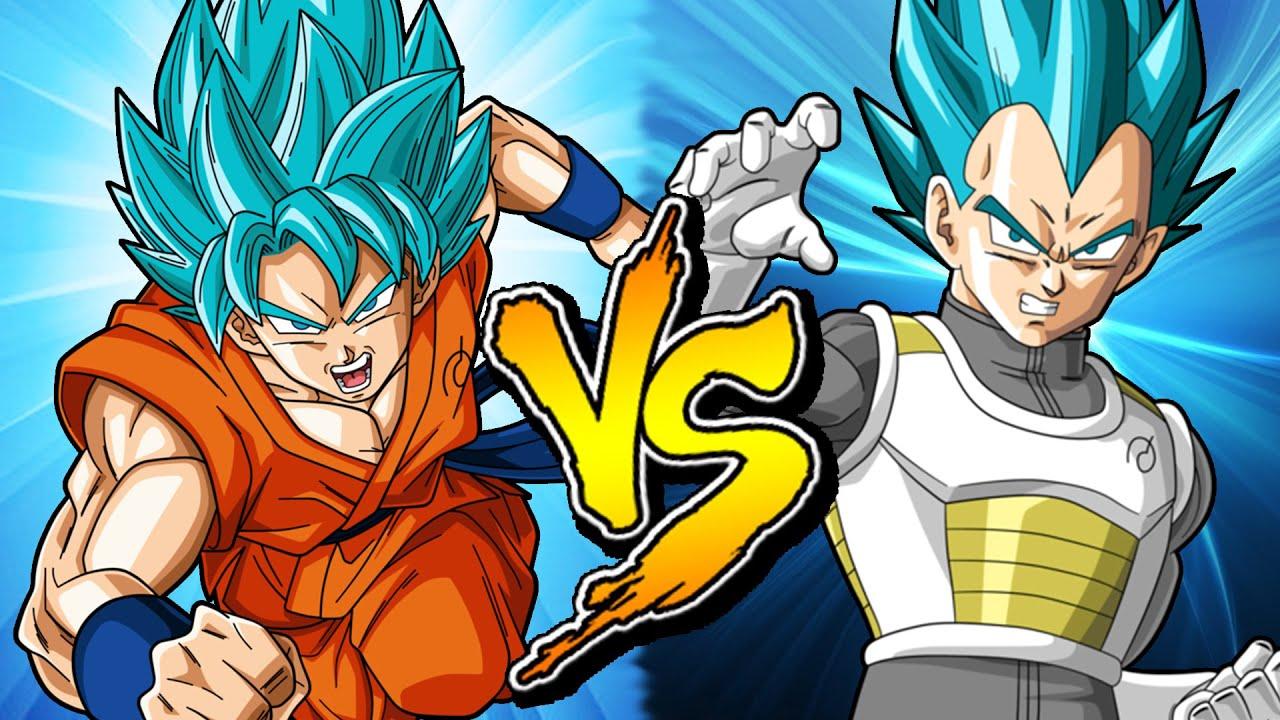 Goku Ssj4 Vs Goku Ssj3: GOKU VS VEGETA SSJ DIOS - YouTube