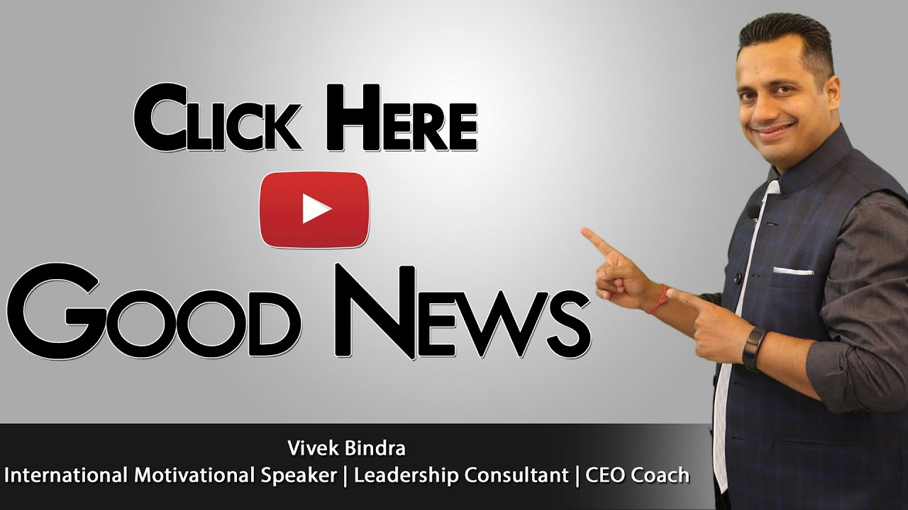 Mr. Vivek Bindra Best Motivational Speaker in India & Asia, Most Inspirational Trainer
