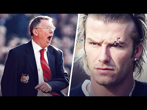 The day Alex Ferguson threw a shoe at David Beckham's head   Oh My Goal