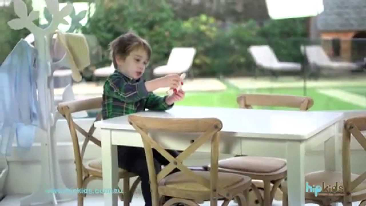 Hampton Kids Table Chairs Set By Hipkids Youtube