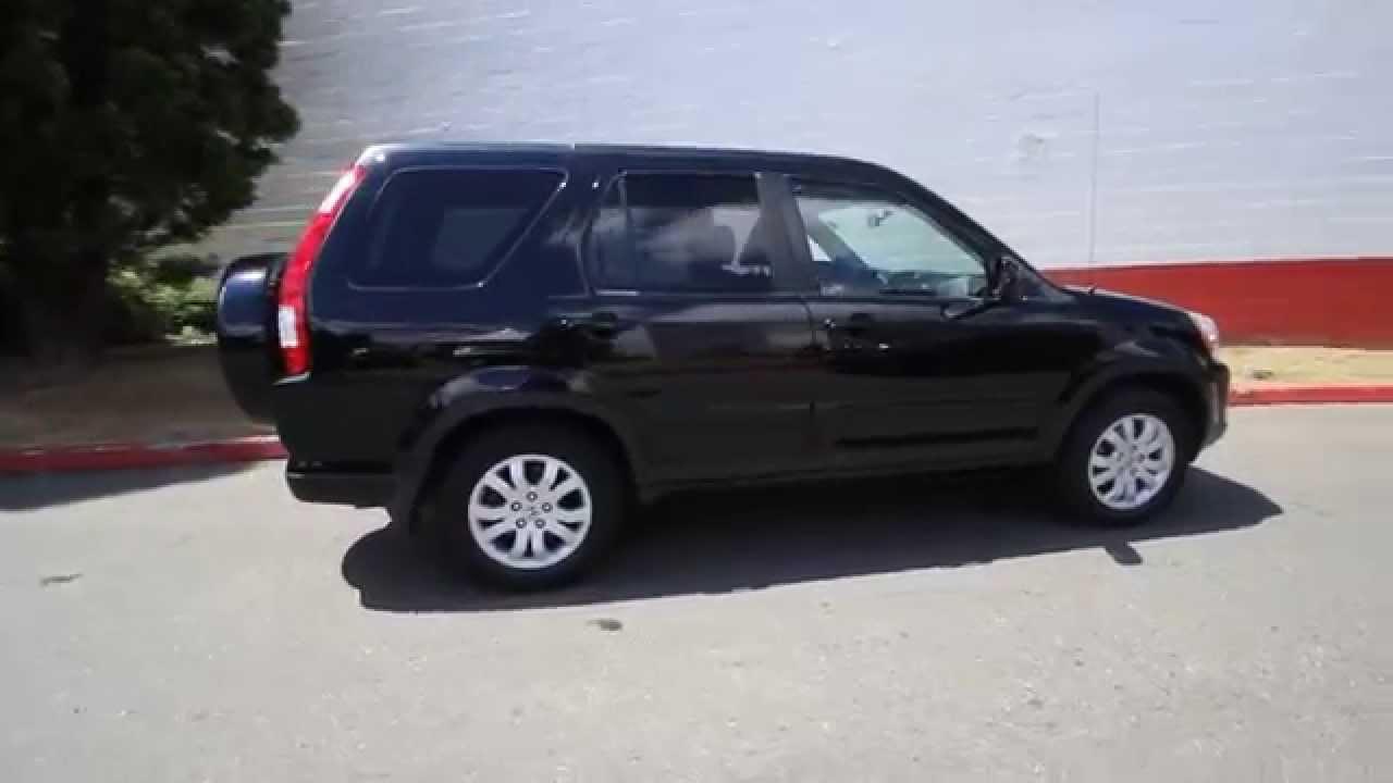 2006 Honda CRV SE EXL  Black  6C021648  Redmond  Seattle