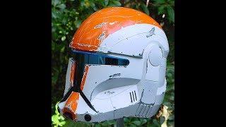 Star Wars.Как сделать Шлем Commando Helmets  Inspired by Republic Commando part 1
