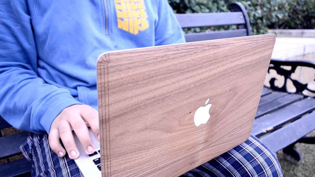 brand new c5721 d545f Review: Toast Walnut Wood Skin for MacBook Air 13