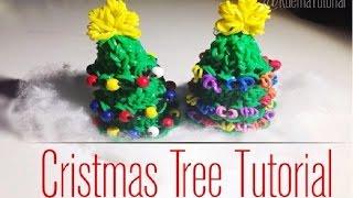 Rainbow Loom 3D Weihnachtsbaum /3D Christmas Tree