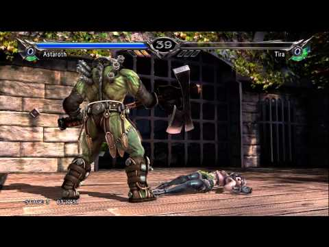 Soul Calibur 5 (360) walkthrough - Astaroth