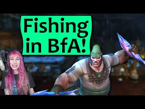 Fishing In Battle For Azeroth - Rare Fish, Achievements And Everything BfA Fishing!