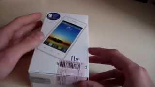 Распаковка Fly IQ4491 Quad Era Life 3 (Unboxing)