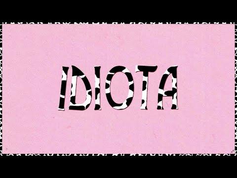 Sofia Reyes - Idiota (Lyric Video)
